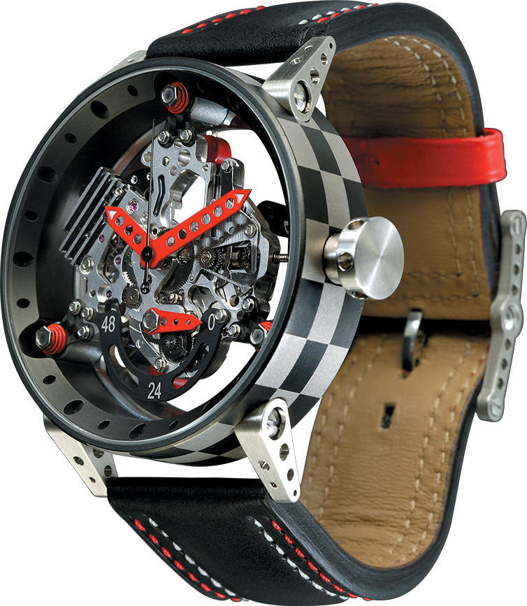 B.R.M Watch R-50-TN Red Hands