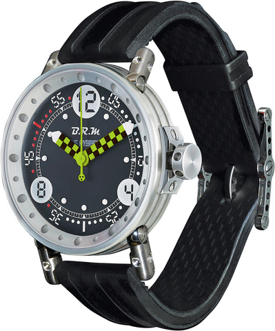 B.R.M Watch V6-44 HB Black And Green Hands