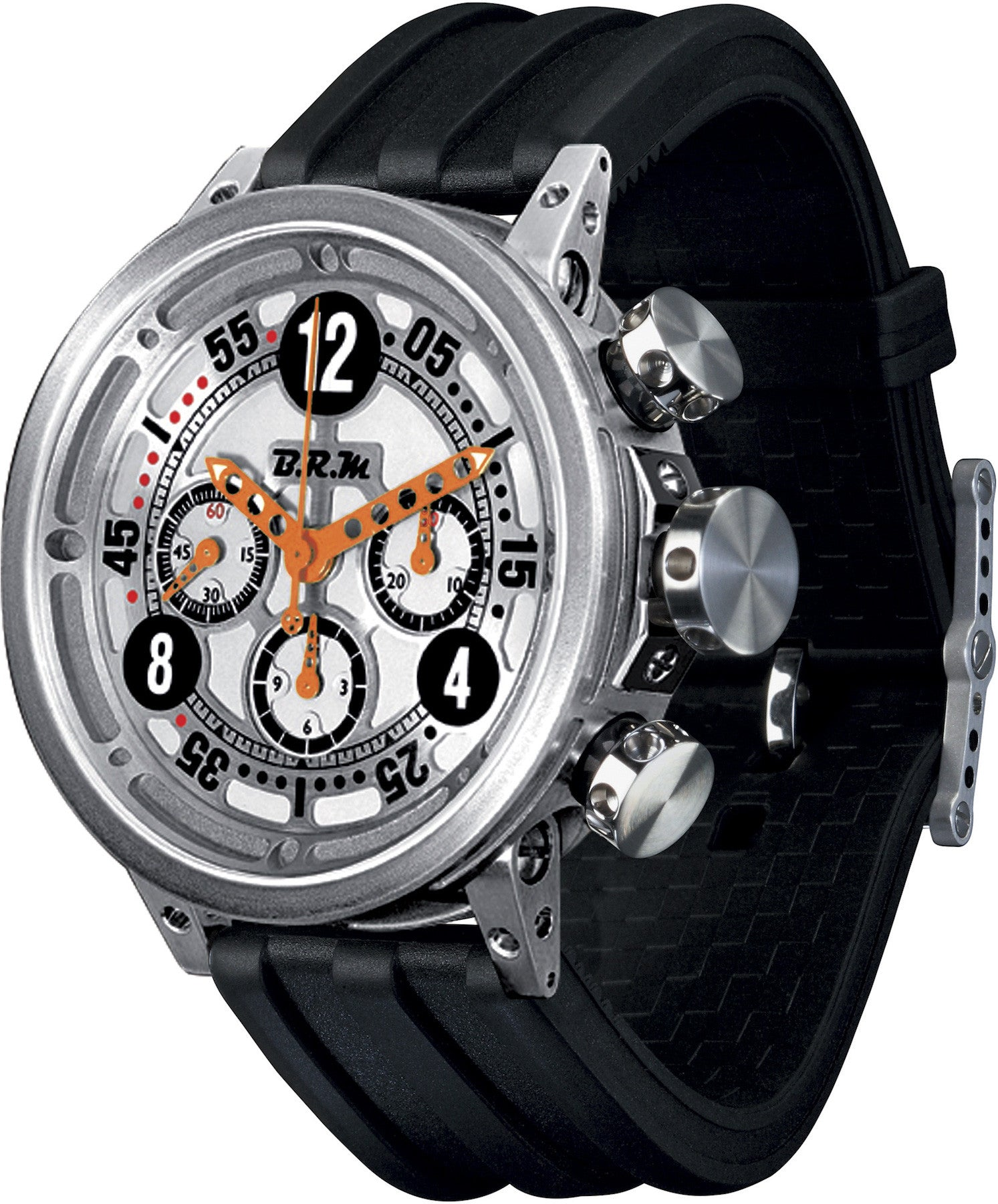B.R.M Watch V16-46 Ringmaster Orange Hands