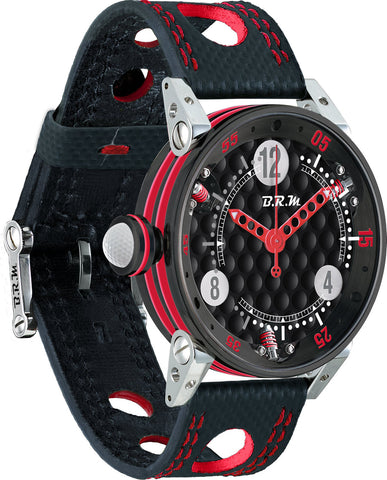 B.R.M Watch Golf Master Ladies Red Hands