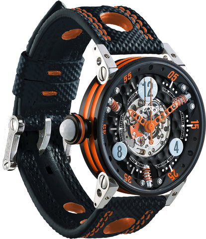 B.R.M Watch Golf Master Ladies Orange Hands