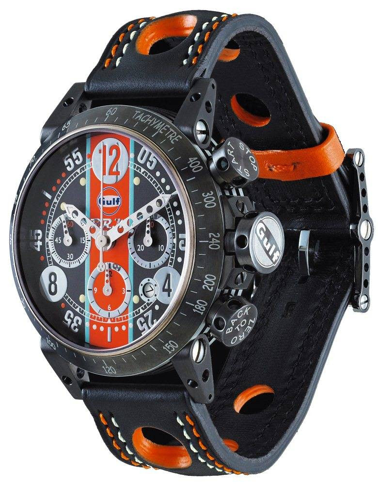 B.R.M Watch V8-44 Gulf Limited Edition