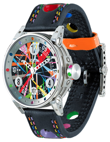 B.R.M Watch V7-38-G Art Car Limited Edition