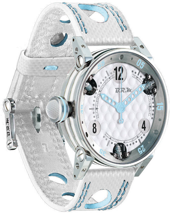 B.R.M Watch Golf Master Ladies Light Blue Hands