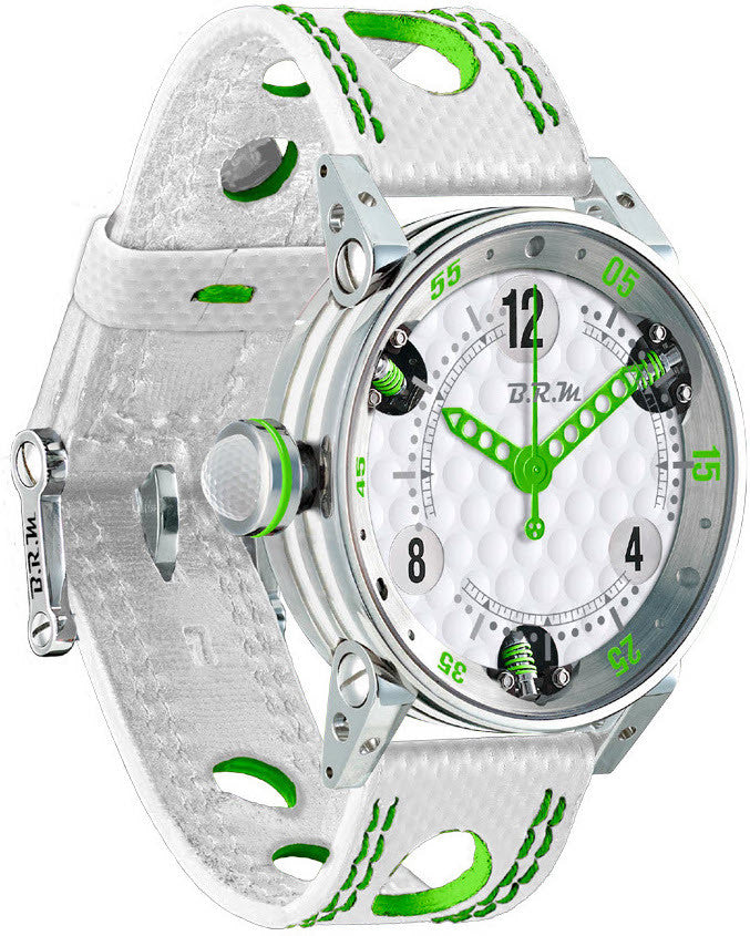 B.R.M Watch Golf Master Ladies Green Hands
