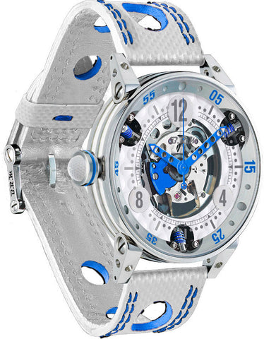 B.R.M Watch Golf Master Mens Dark Blue Hands