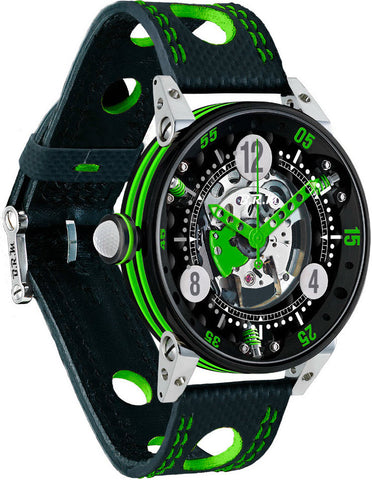 B.R.M Watch Golf Master Mens Lime Green Hands Pre-Order