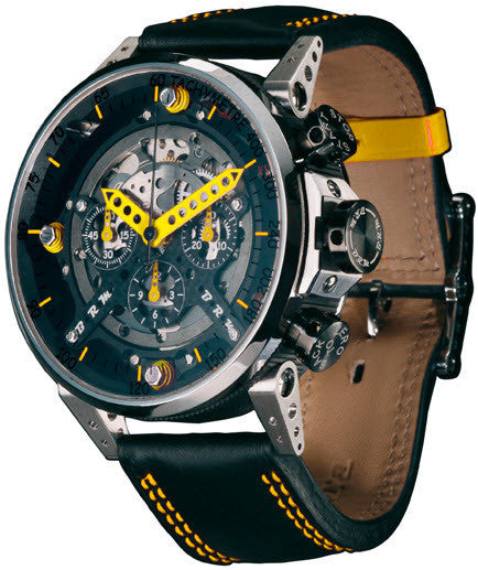 B.R.M Watch CT-48 Yellow Hands