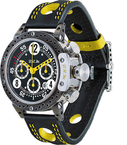 B.R.M Watch DDF12-44 Yellow Hands