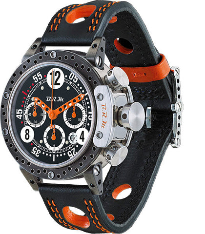 B.R.M Watch DDF12-44 Orange Hands