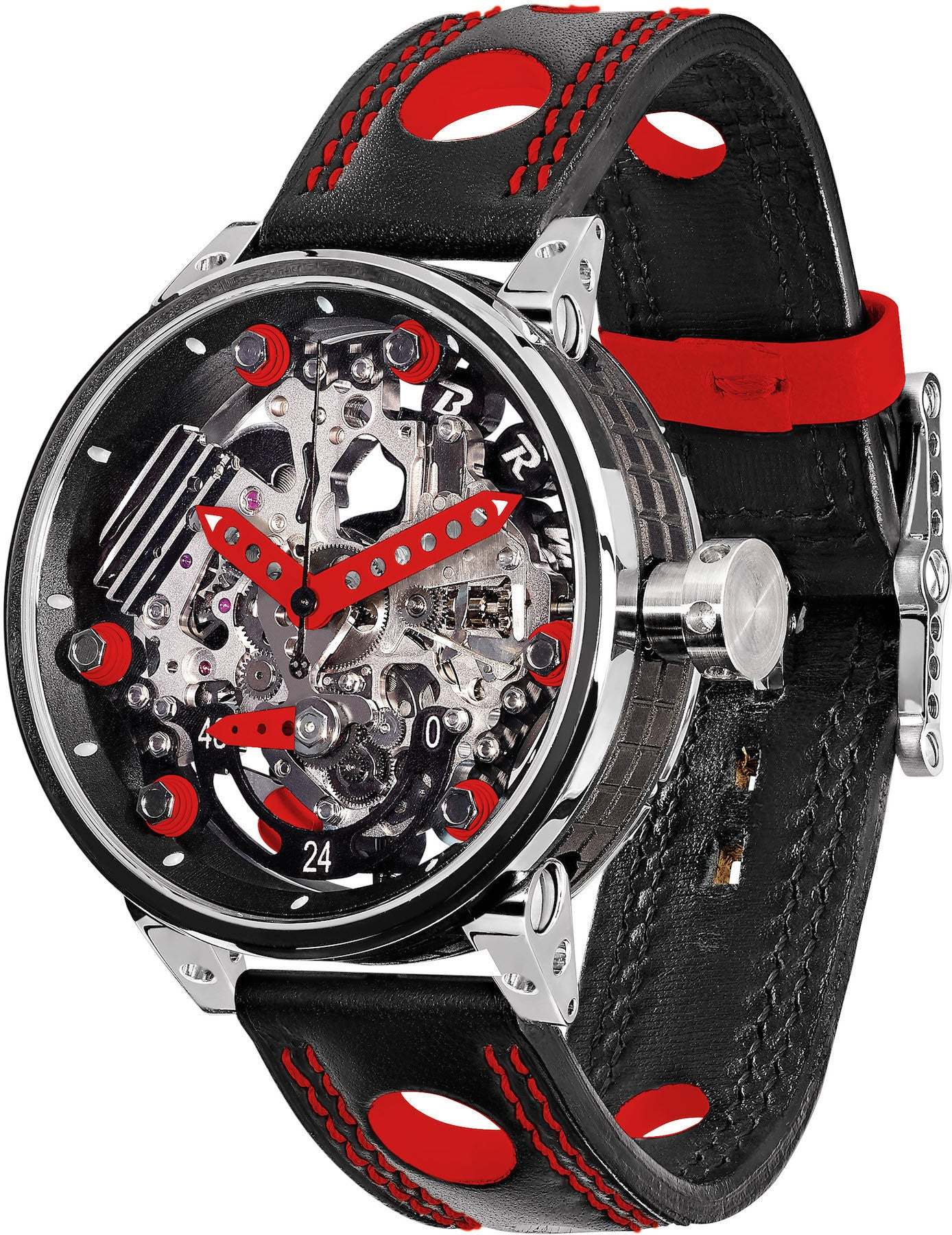 B.R.M Watch R-46 Red Hands