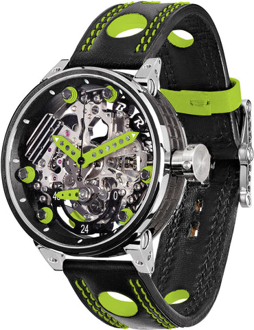 B.R.M Watch R-46 Green Hands