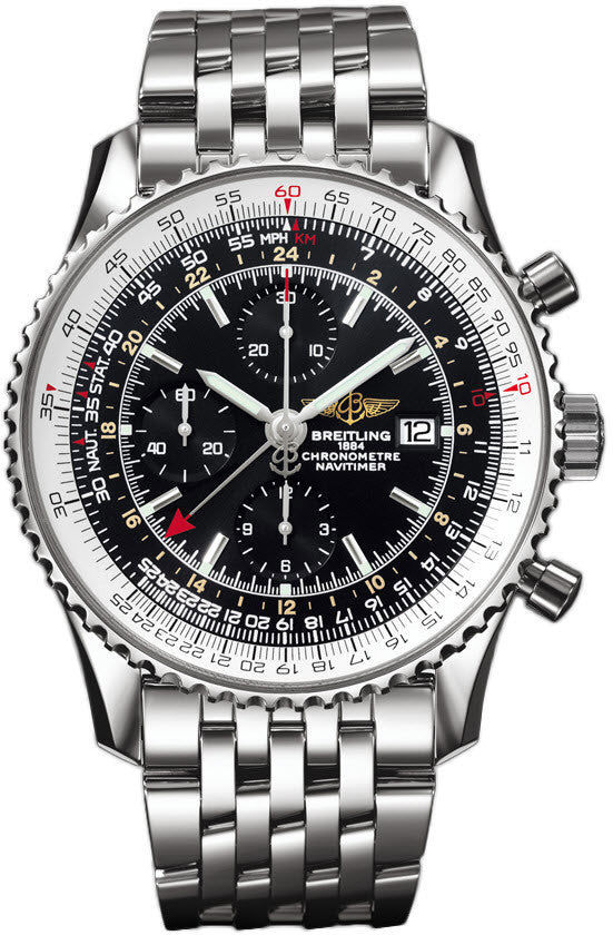 Breitling Watch Navitimer World Black