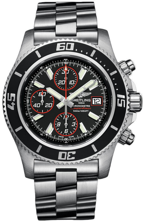 Breitling Watch Superocean Chronograph Abyss Red
