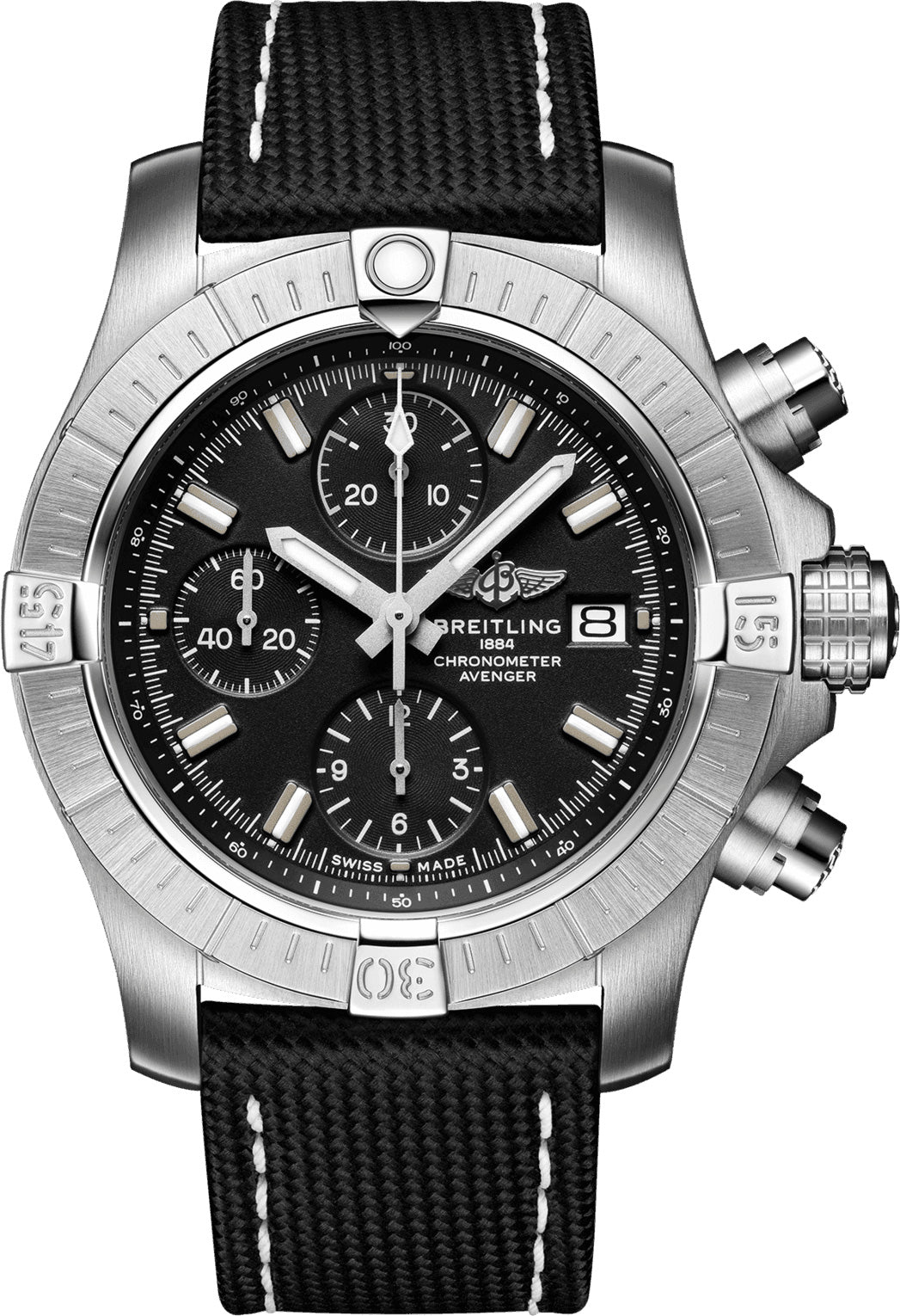 Breitling Watch Avenger Chronograph 43 Folding Clasp