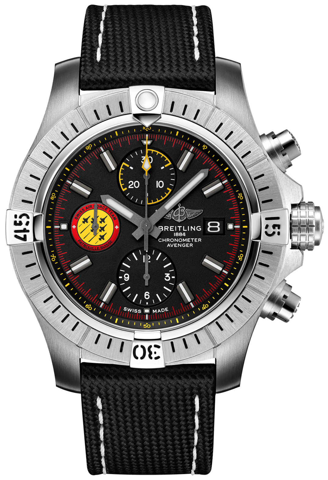 Breitling Watch Avenger Chronograph 45 Swiss Air Force Team Limited Edition