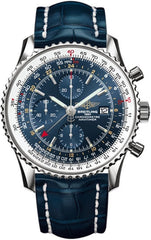 Breitling Watch Navitimer World Blue