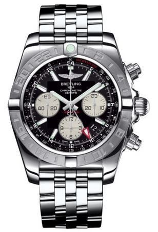 Breitling Watch Chronomat 44 GMT Onyx Black