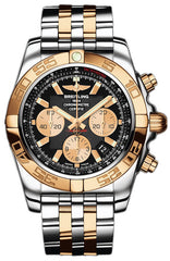 Breitling Watch Chronomat 44 Onyx Black Pilot Bracelet