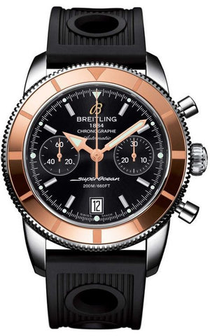 Breitling Watch Superocean Heritage Chronographe 44 Volcano Black