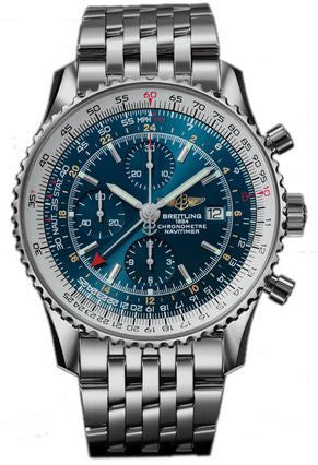 Breitling Watch Navitimer World Blue Bracelet