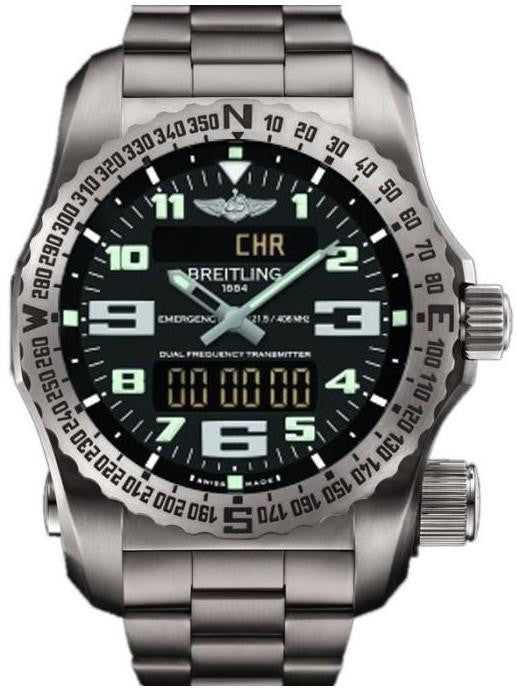 Breitling Watch Emergency II Black D