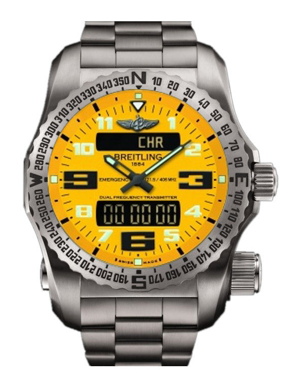 Breitling Watch Emergency II Yellow