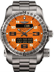 Breitling Watch Emergency II Orange Professional III Titanium Bracelet