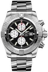 Breitling Watch Super Avenger II Steel Volcano Black
