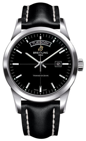 Breitling Watch Transocean Black