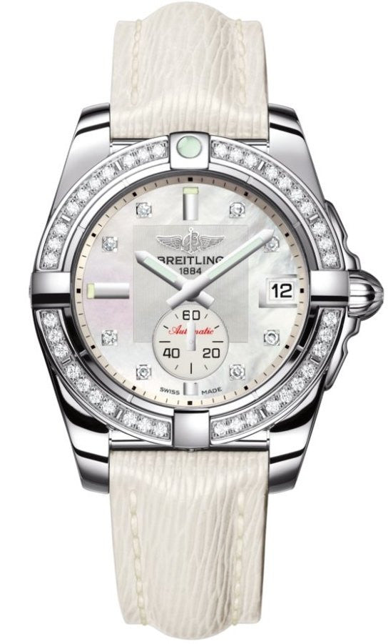 Breitling Watch Galactic 36 Pearl Diamond