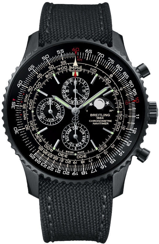 Breitling Watch Navitimer 1461 48mm Blacksteel Limited Edition