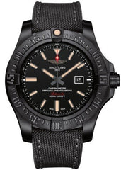 Breitling Watch Avenger Blackbird Volcano Black