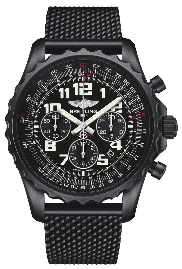 Breitling Watch Chronospace Black Steel Limited Edition