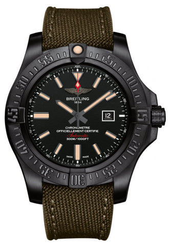 Breitling Watch Avenger Blackbird