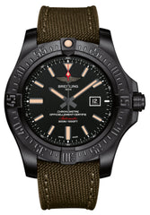 Breitling Watch Avenger Blackbird Military Tang Type