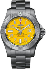 Breitling Watch Avenger Seawolf Cobra Yellow
