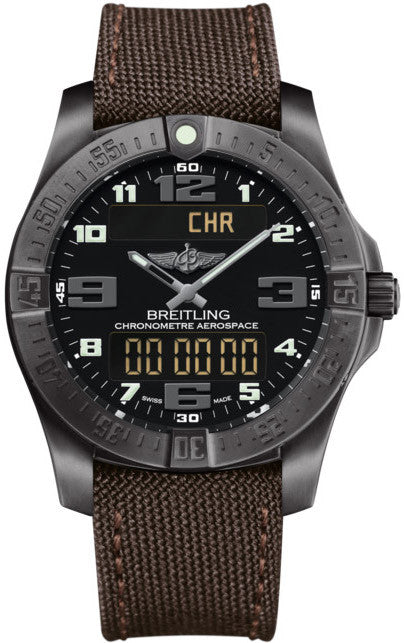Breitling Watch Aerospace Evo Night Mission Volcano Black