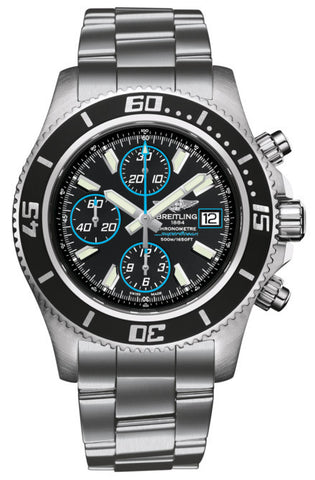 Breitling Watch Superocean Chronograph Abyss Blue