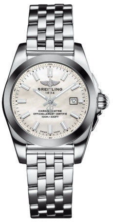 Breitling Watch Galactic 29 Sleekt Mother of Pearl