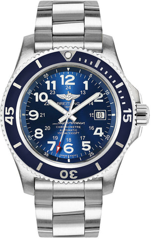Breitling Watch Superocean II 44 Gun Blue