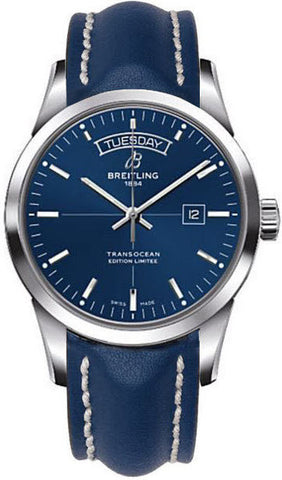 Breitling Watch Transocean Aurora Blue Limited Edition