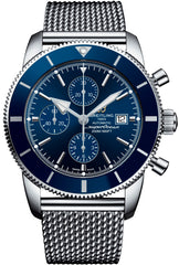 Breitling Watch Superocean Heritage Chronographe Gun Blue