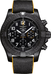 Breitling Watch Avenger Hurricane 45 12H Breitlight Military Rubber Pushbutton