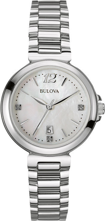 Bulova Watch Diamond S