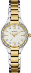 Bulova Watch Diamond Ladies
