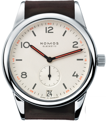 Nomos Glashutte Watch Club Datum Sapphire Crystal