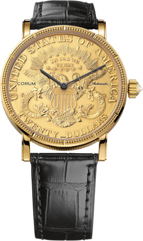 Corum Watch Heritage Artisans 20 Dollar Coin