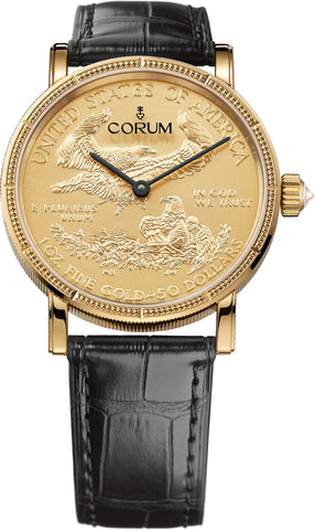 Corum Watch Heritage Artisans 50th Anniversary Coin