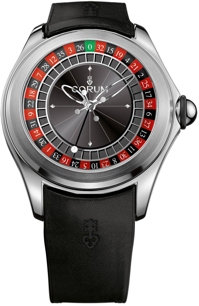 Corum watch bubble roulette limited edition l082 02958 watch for Corum watches
